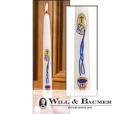 "Baptismal Candle: ""My Baptism Taper"" (Case of 24)"