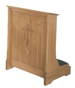 "Wedding Prie Dieu with Shelf 42"" x 21"" (Style 265W)"