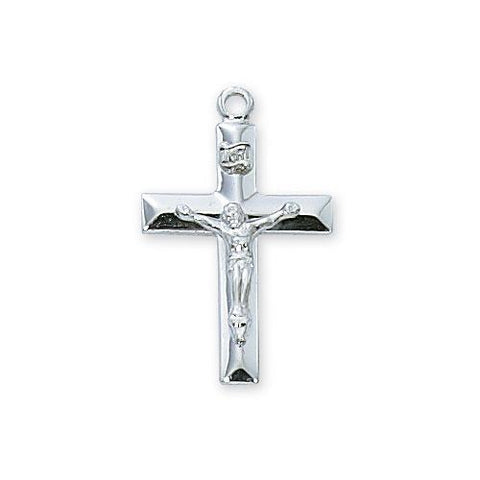 Sterling Silver Crucifix No Chain (Style: LBCKOX/T)