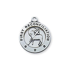 "Sterling Silver Reconciliation 16"" Chain and Box (Style: L700RC)"