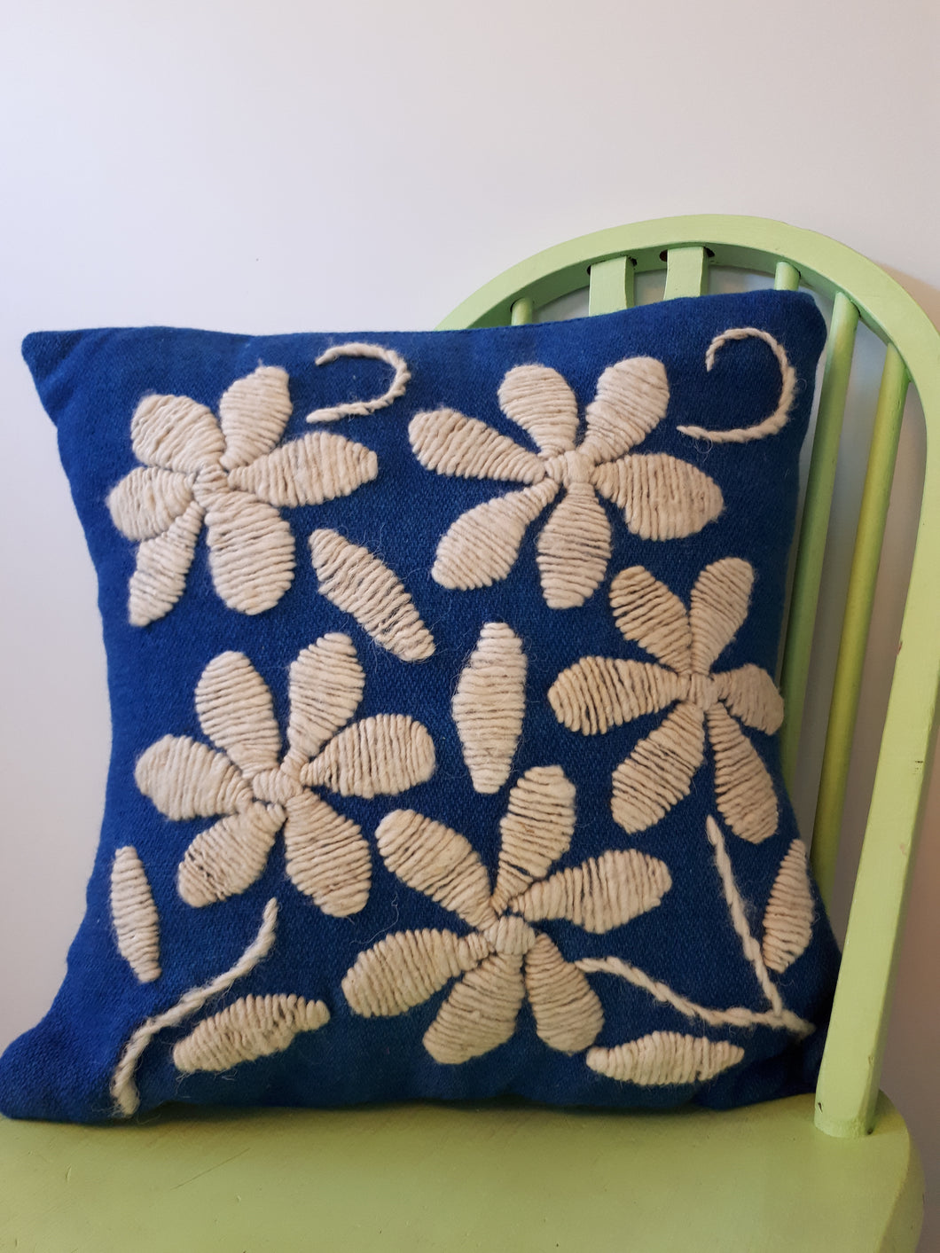 Camelia Picote Wool Cushion Cover