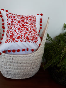 Chilac Embroidered Cushion Cover