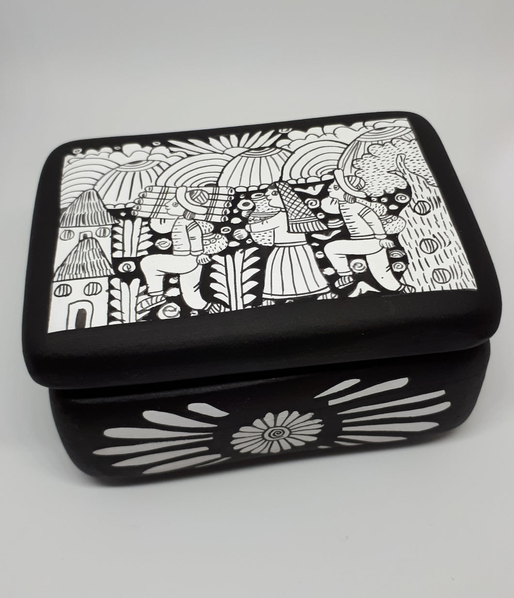 Pottery Jewellery Box