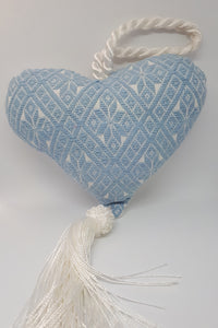 Atla Embroidered Heart with Tassle