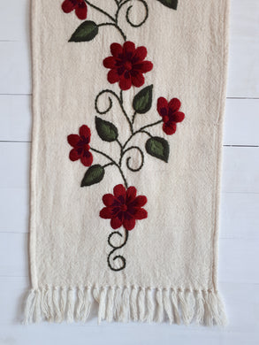 Dalia Picote Wool Table Runner