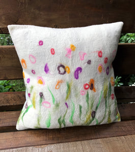 Felt Wool Cushion Cover