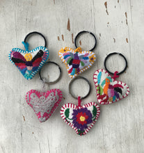Otomi Hand Embroidered Keyring