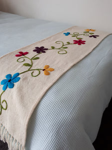 Azalea Picote Wool Table Runner