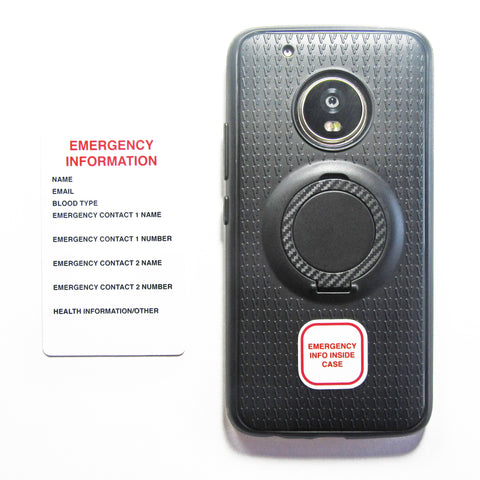 Just-In-Case Emergency Information Card