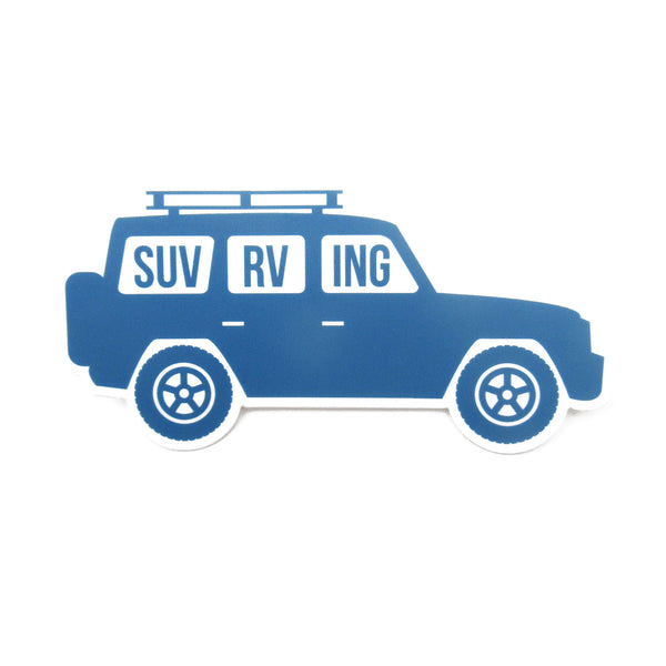 SUV RVing Sticker