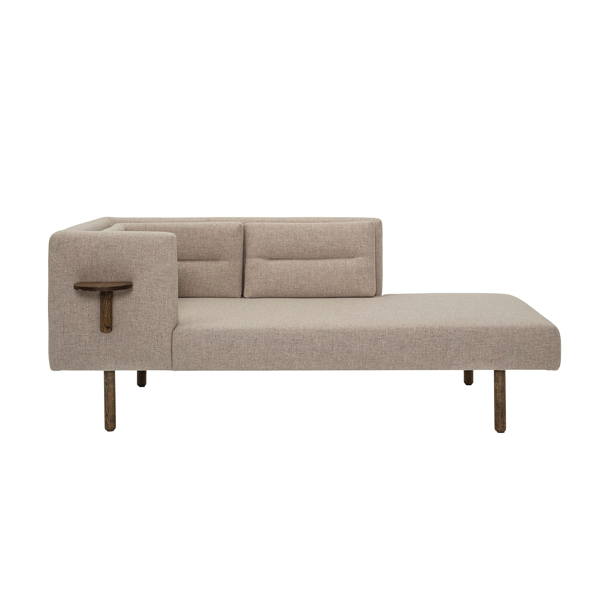 Bloomingville Lean Daybed, Brun, Uld