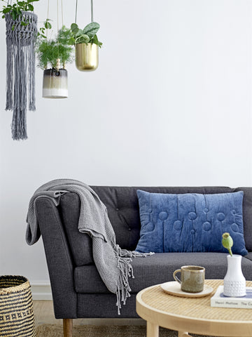 Bloomingville Pause Sofa, Grå, Polyester