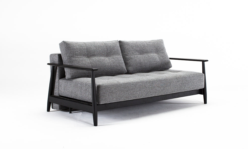 innovation living – Innovation living - una deluxe sofabed black edition på sengetid