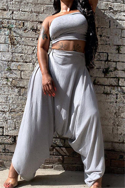 Tube Top with Harem Pants Sets