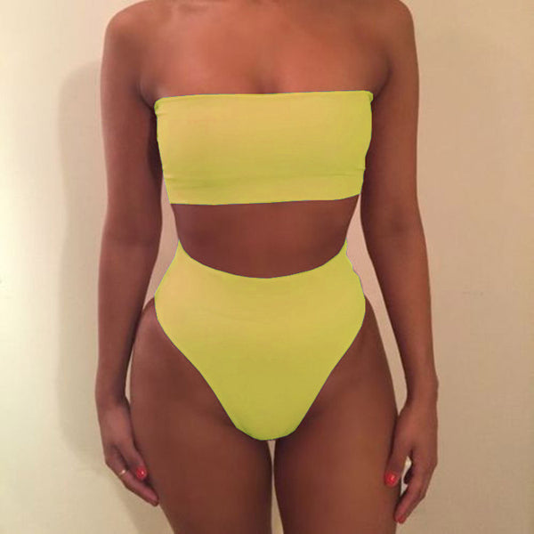 Bandeau Two Piece Bikini