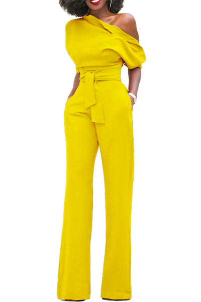 Size XL Clearance Wide Leg Jumpsuit
