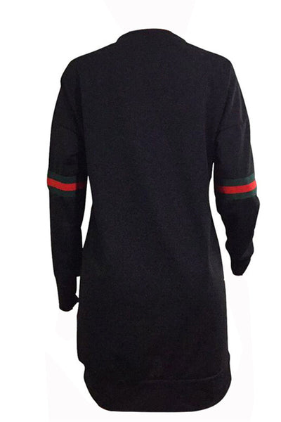 Sporty Long Sleeve Dress