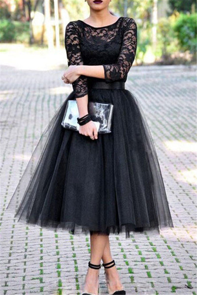 Plus Size Net Yarn Skirt