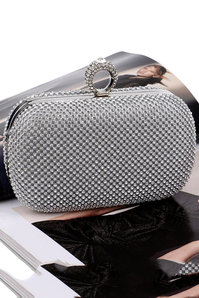 Shining Rhinestone Evening Handbag