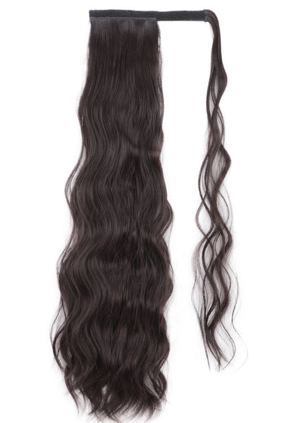 Long Curly Velcro Horsetail Wigs