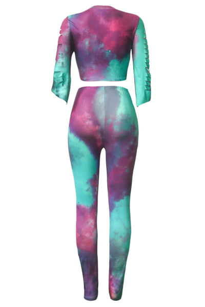 Tie Dye Distressed Sets