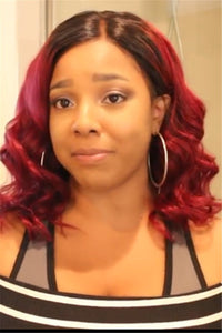 Color Changing Short Curly Wigs
