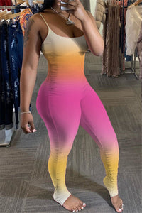 Color Changing Cami Ruched Jumpsuit