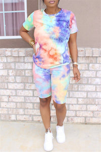 Casual Tie Dye Two PC Sets