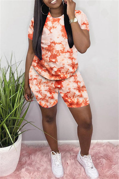 Casual Printed Sporty Sets