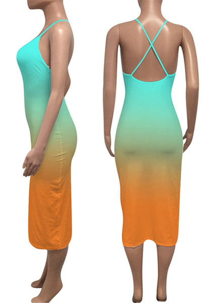 Color Changing Cami Bodycon Dress