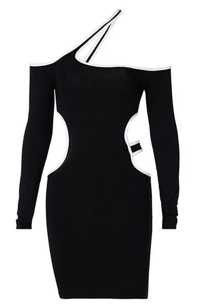 Hollow Out Halted Womens Dress
