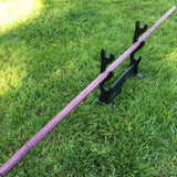 Dyed Purple Maple Jo Staff