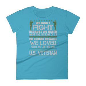 Veteran T Shirts Women's short sleeve t-shirt