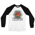 Freedom Art Long Sleeve Baseball T-Shirt