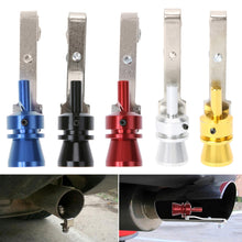Universal Car Turbo Sound Whistle Muffler Exhaust Pipe