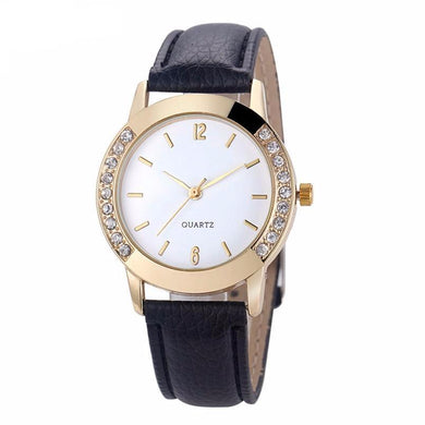 Diamond Rhinestone Analog Quartz Wrist Watch