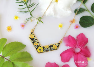 Summer Chevron Necklace