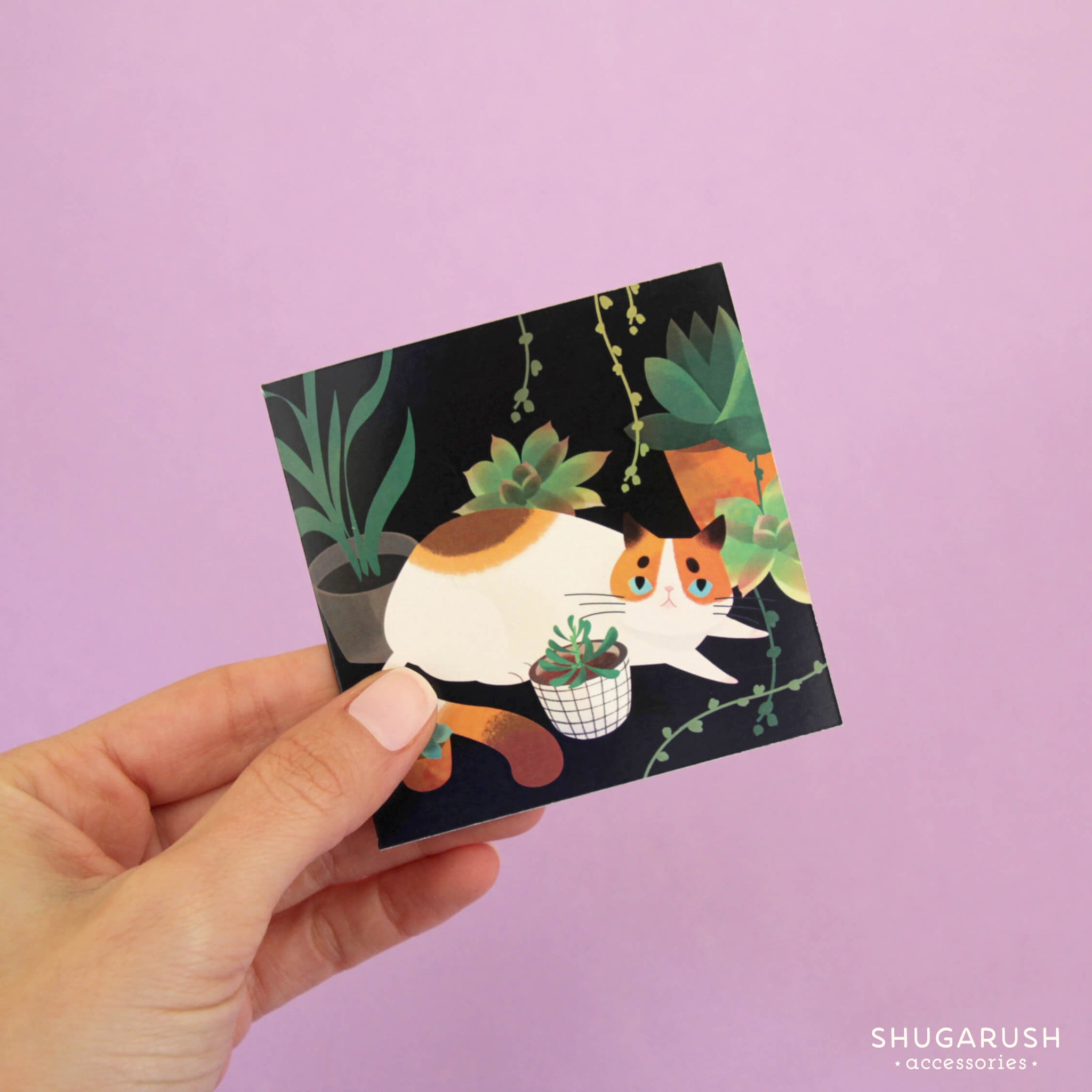Tiny cat greeting cards shugarush accessories tiny cat greeting cards m4hsunfo
