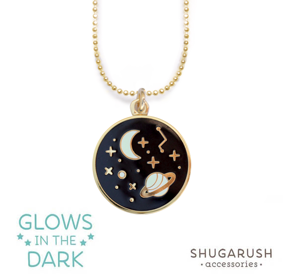 Galaxy Necklace Gold