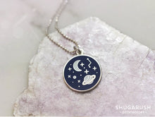 Galaxy Necklace Silver