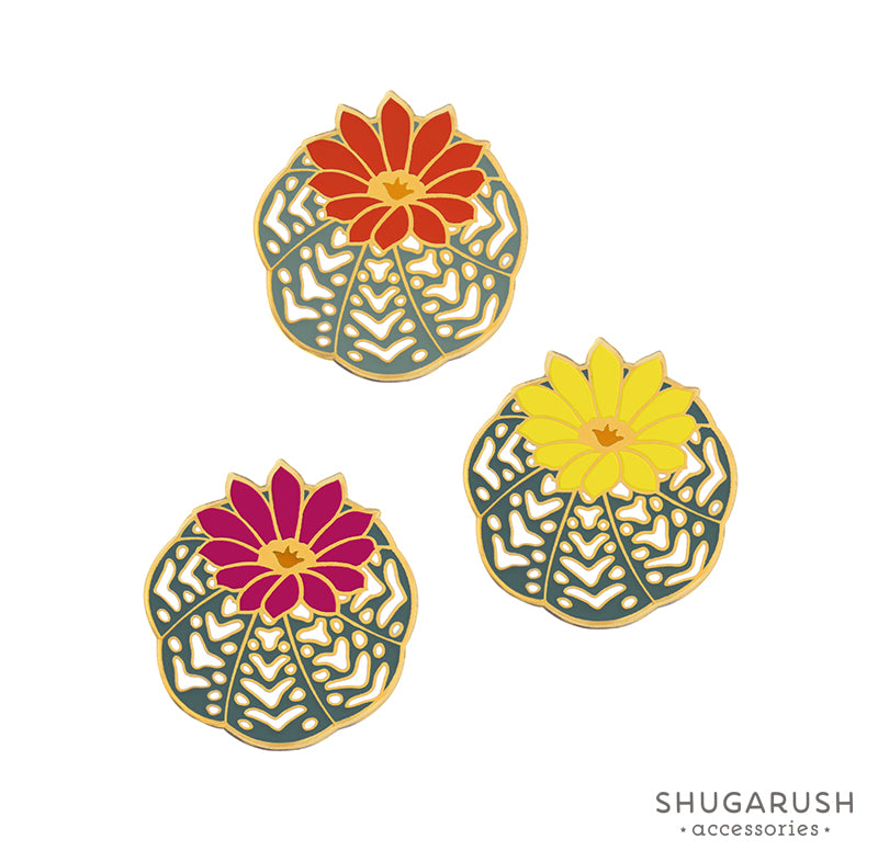 Cactus Pin Bundle Set of 3