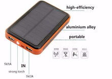 Solar 20000mAh External Battery