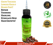 Premium Beard Oil by Rastarafi® | Fast Beard Growth Oil, Grow & Groom Beard