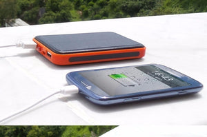 Portable Waterproof Solar Charger Dual USB | 20000mAh External Battery