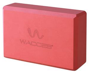 Wacces Yoga Essentials Yoga Blocks -Red