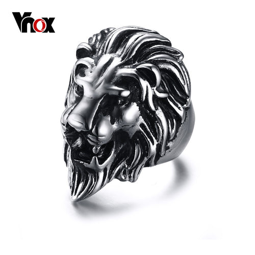 Lion Ring by VNOX