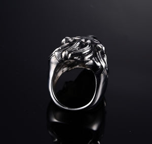 VNOX Lion Head Ring