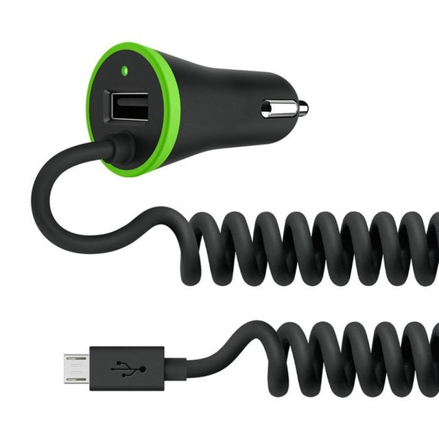 RAXFLY Micro Mini USB Car Charger | Mobile Phone Charger For iPhone & Samsung