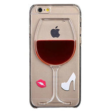 Liquid Quicksand Wine Glass iPhone 6 Case