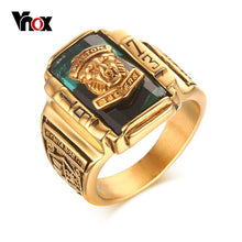 Lion of Judah Male Gold Ring